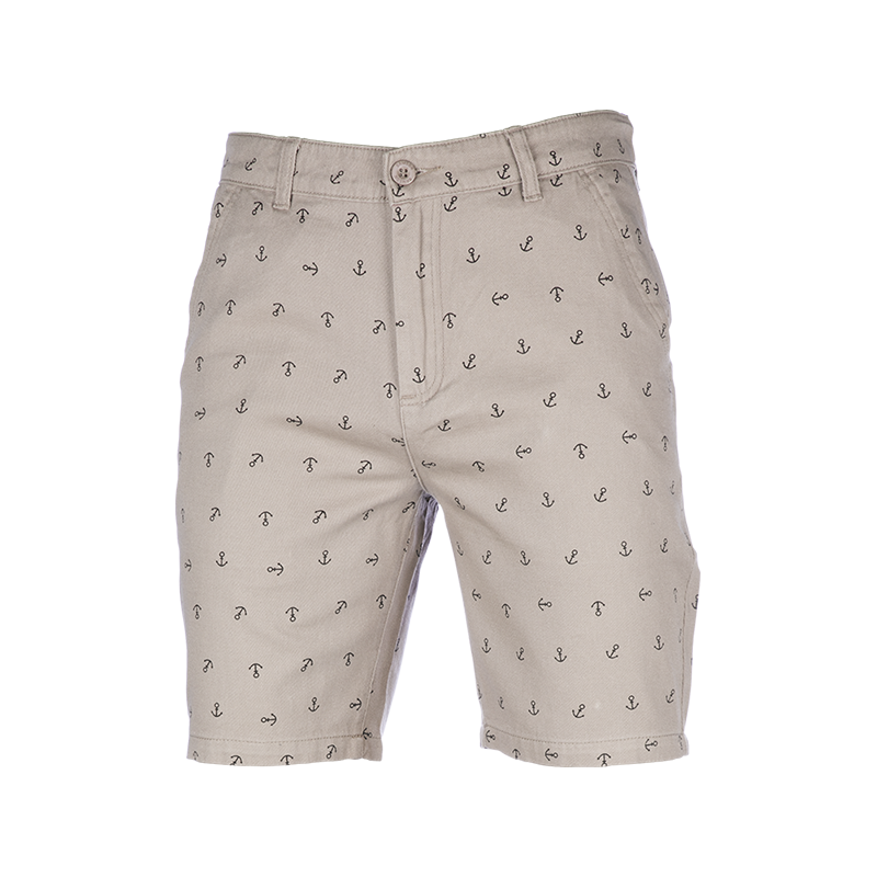 Samson - Trousers - ANCHOR PRINT SHORT