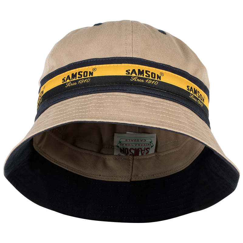 Samson - Accessories - BUCKET HAT WITH  CONTRAST TAPE