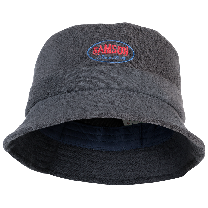 Samson - Accessories - BUCKET HAT WITH EMBROIDERED LOGO