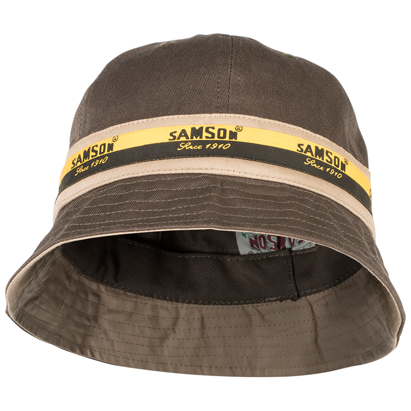 Samson - Accessories - BUCKET HAT WITH PANELING AND CONTRAST TAPE
