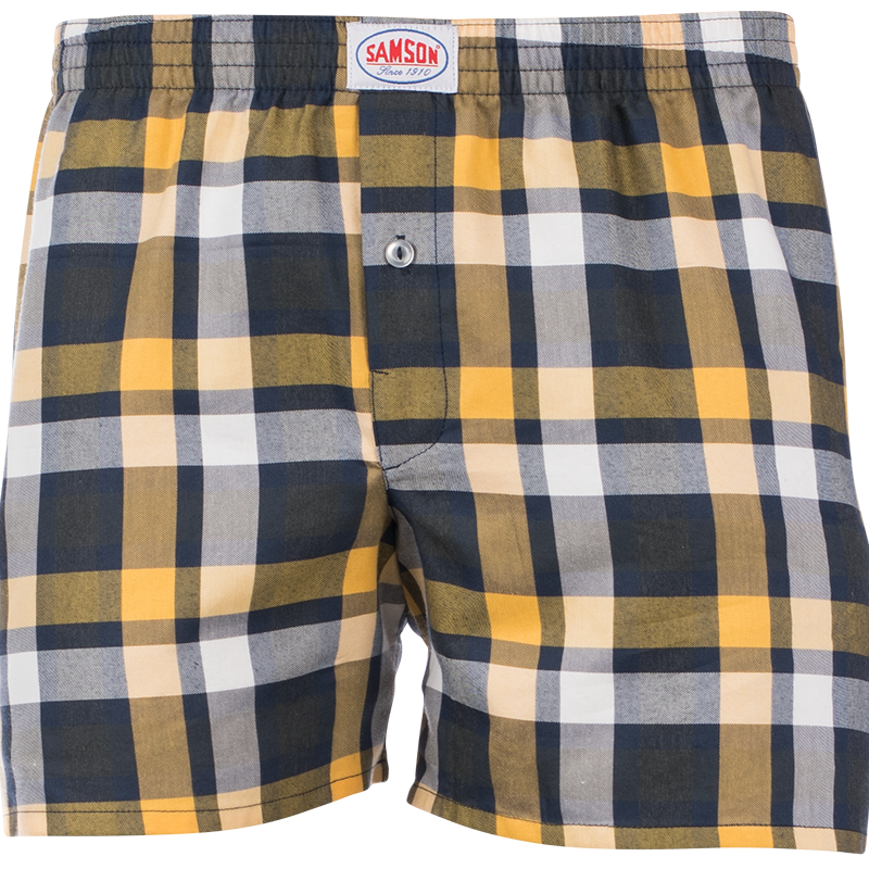 Samson - Accessories - CHECKED WOVEN BOXER