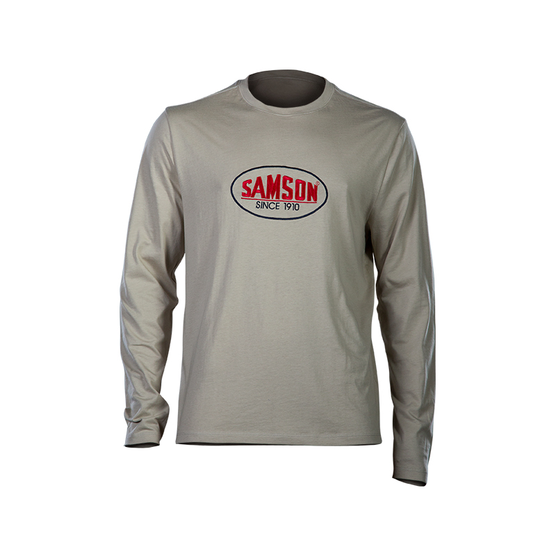Samson - Shirts - Embroidered L/S Tee