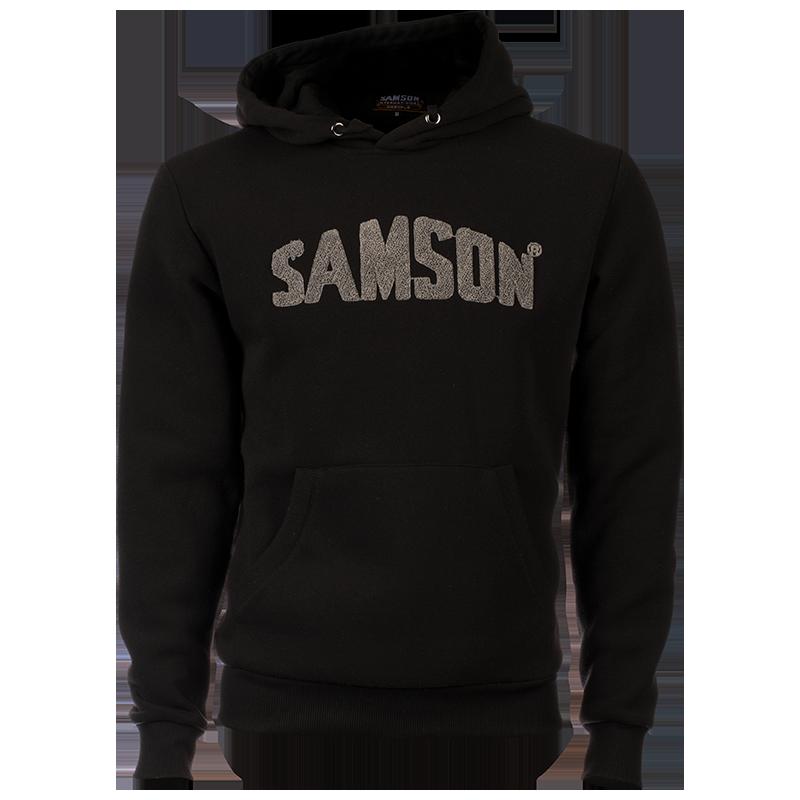 Samson - Knitwear - HOODIE WITH SAMSON APPLIQUE