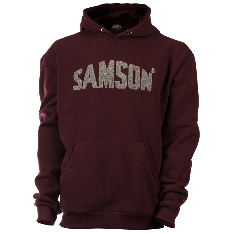 Samson - Hoodies - HOODIE WITH SAMSON APPLIQUE