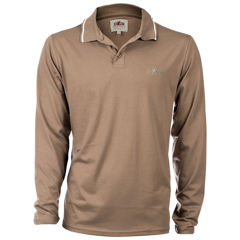 Samson - Shirts - LONG SLEEVE CORE GOLFER