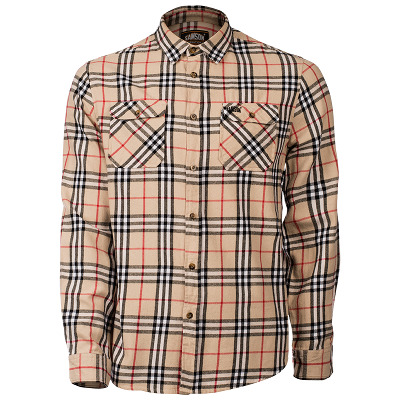 Samson - Shirts - LONG SLEEVE FLANNEL