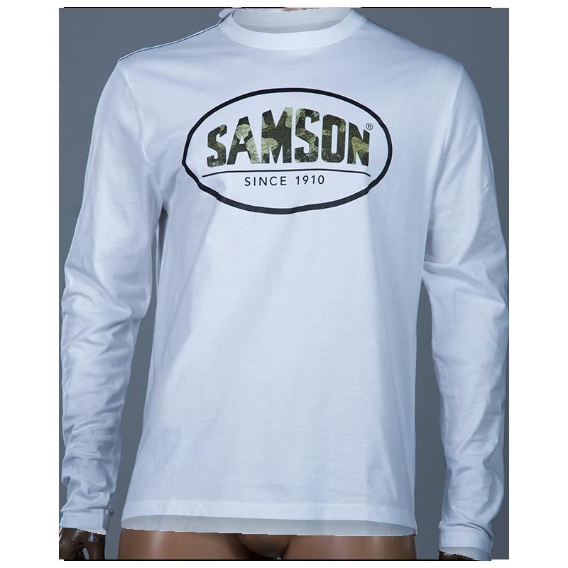 Samson - Shirts - Printed Logo L/S Tee